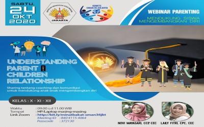 WEBINAR PARENTING - UNDERSTANDING PARENT AND CHILDREN RELATIONSHIP
